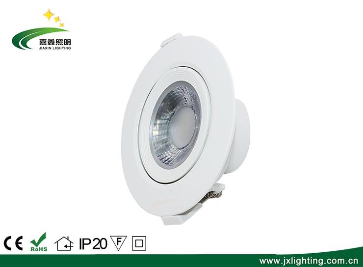 4寸12W塑料外壳LED防眩光天花灯