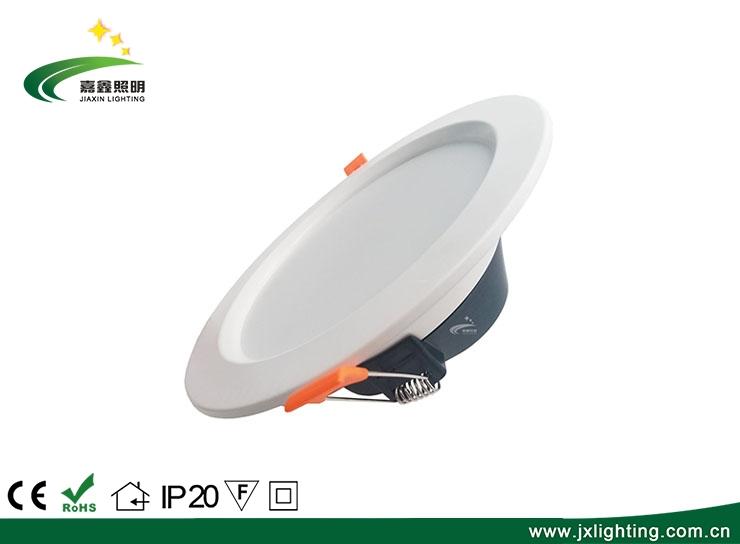 圆形超薄暗装筒灯