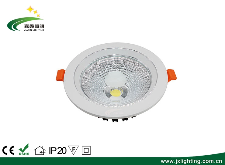 铝制可调光嵌入式商用LED筒灯