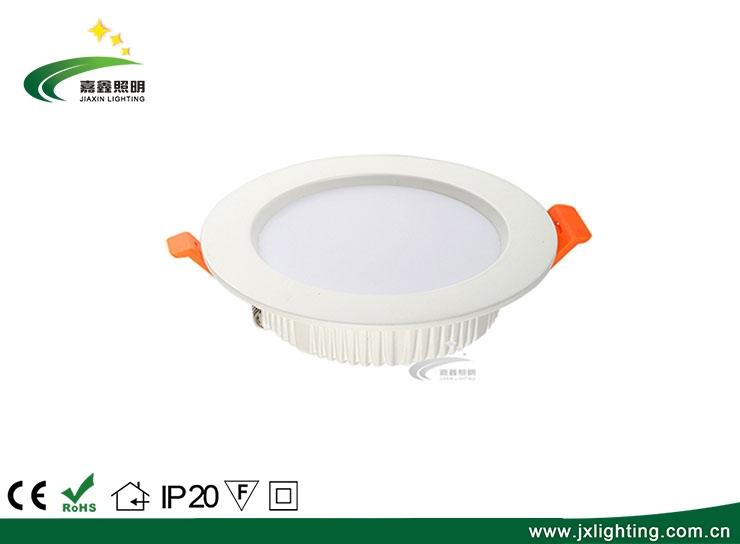高品质嵌入式9W SMD面板轻圆形超薄LED筒灯