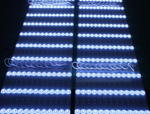 卷帘式漫反射透镜灯条